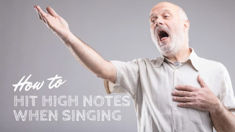 How to Hit High Notes When Singing