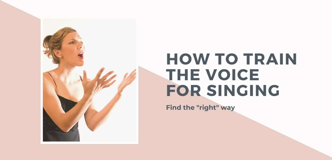 How to train the voice for singing