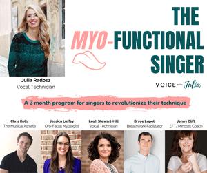 The Myo-Functional Singer