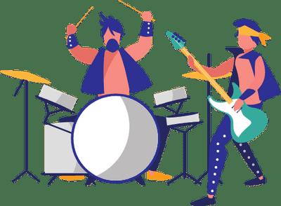 Rock singing